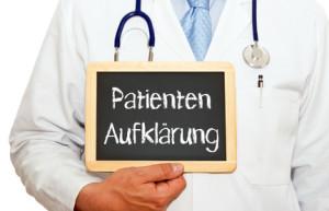 Patientenaufklärung