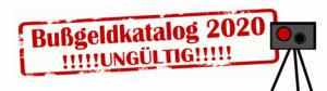 Rechtswidrige Bußgeldbescheide durch die StVO-Novelle 2020/Bußgeldkatalog 2020? – Verletzung des Zitiergebots und die Folgen für die Betroffenen